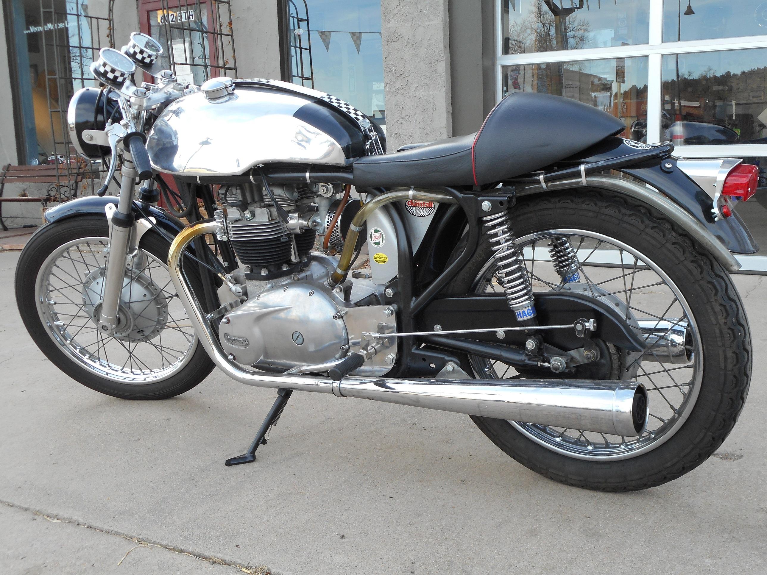 1962 triton vintage cafe racer motorcycle sold vintage motors of lyons. Black Bedroom Furniture Sets. Home Design Ideas