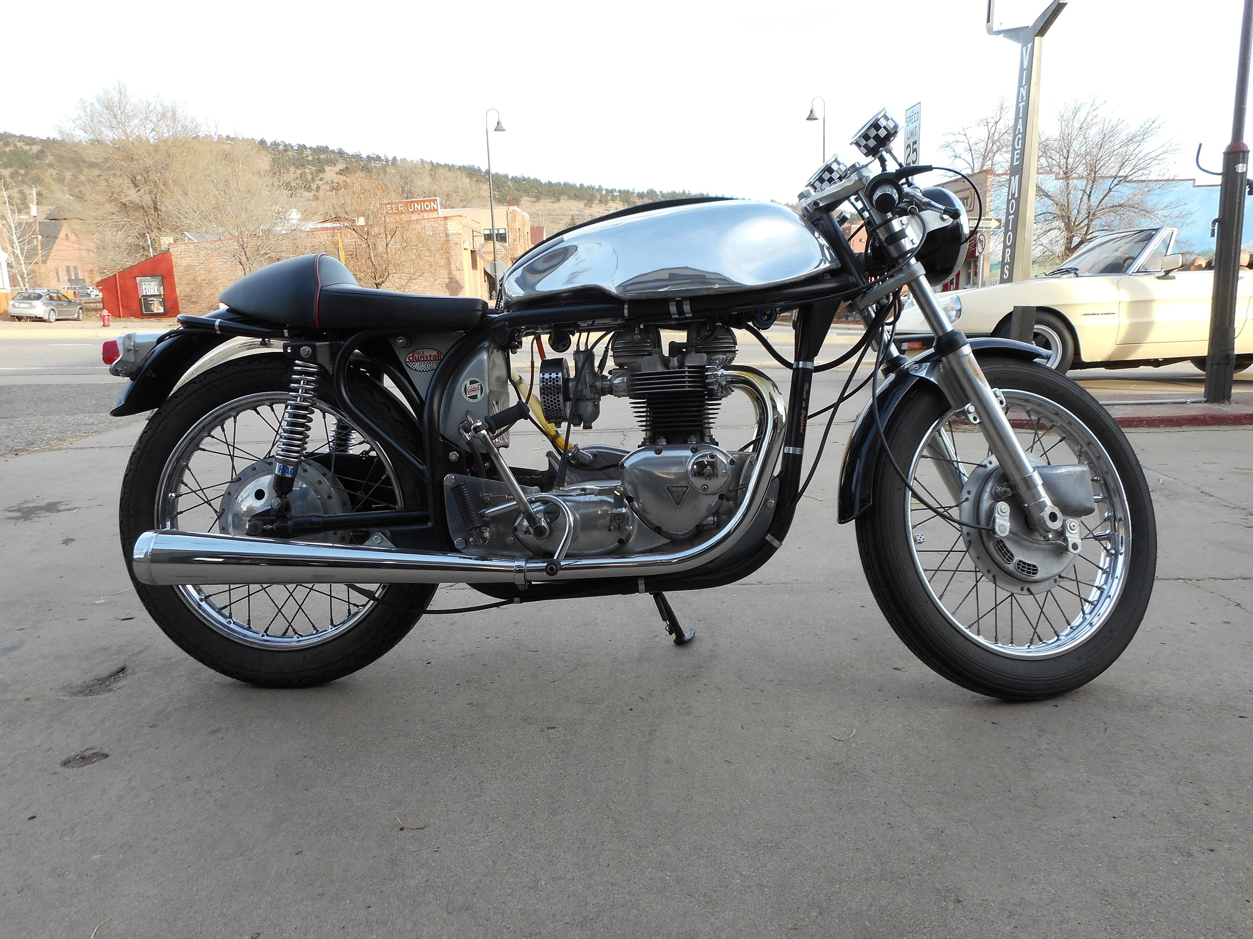 1962 Triton Vintage Cafe Racer Motorcycle Sold Motors Of Lyons