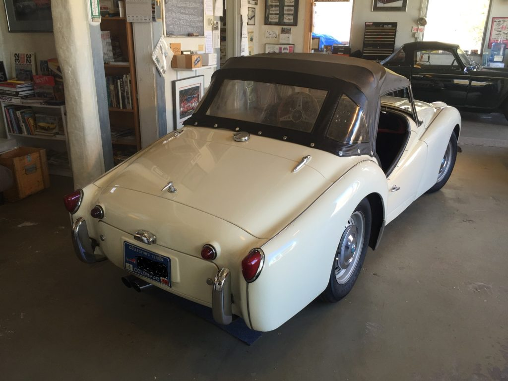 1960 Triumph Tr3a Sold Vintage Motors Of Lyons