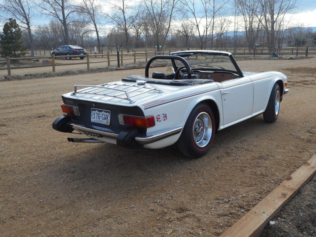 187 1976 Triumph Tr6 True Survivor Sold Vintage Motors Of