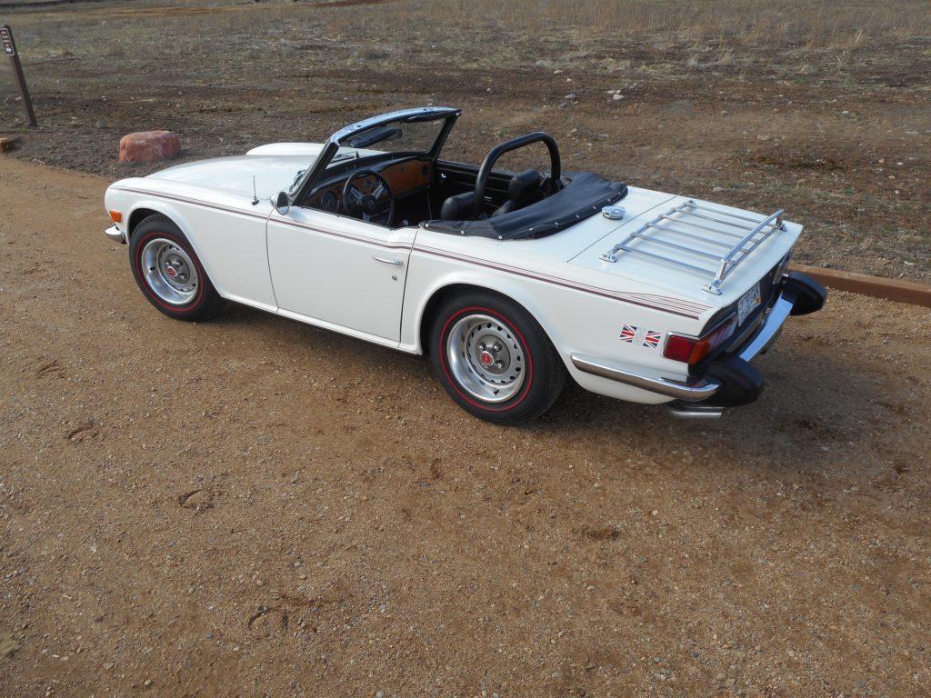 1976 Triumph Tr6 True Survivor Sold Vintage Motors Of Lyons